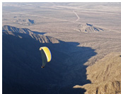 Paragliding in Famatina :: Sunset ridge soaring in Famatina, Argentina