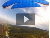Paragliding from Loma Bola, Tucuman, Argentina