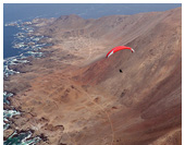 Paragliding at Junin Cliffs, Pisagua, Iquique, Chile
