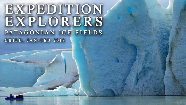 Expedition Explorers IX - Glaciers of the Patagonian Ice Field and Istmo Ofqui, February 2018, Chile
