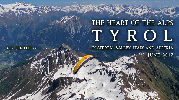 Tyrol - The Heart of The Alps - Paragliding trip to Pustertal Valley, June 2016