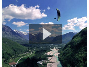 Bovec valley :: Valic brothers fly in Bovec valley in Slovenia