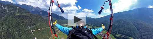 Paragliding tours in Slovenia